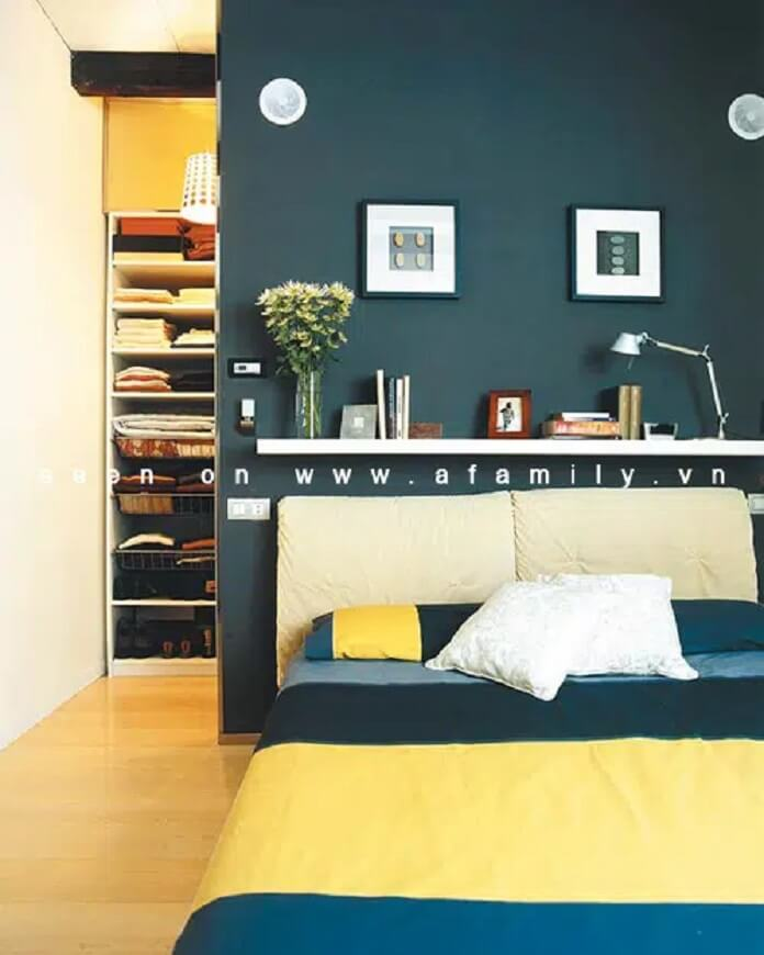 Picture of a man in the bedroom - Detailed instructions on how to place a cabinet with a mirror in the bedroom - style-thuy-phong-nu